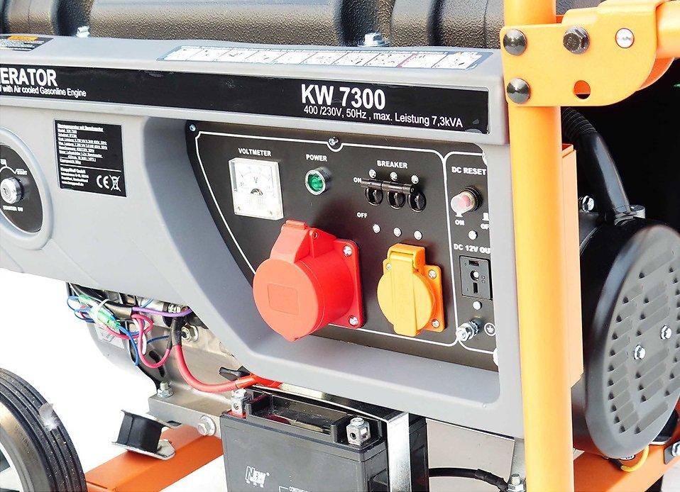 stromaggregat 6 3 kw 3 phasen generator notstrom erzeuger. Black Bedroom Furniture Sets. Home Design Ideas