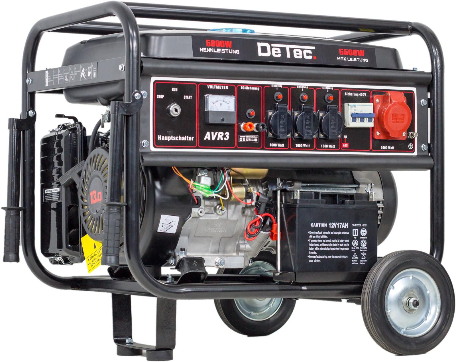 400V Stromaggregat Stromerzeuger 5500 Watt Drehstrom Generator E ...